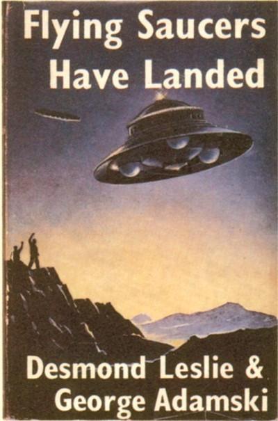 Το πρώτο βιβλίο του Αντάμσκι, στο οποίο εξιστορεί τα όσα συνέβησαν στην έρημο της Καλιφόρνια