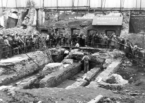 Οι ανασκαφές του 1954