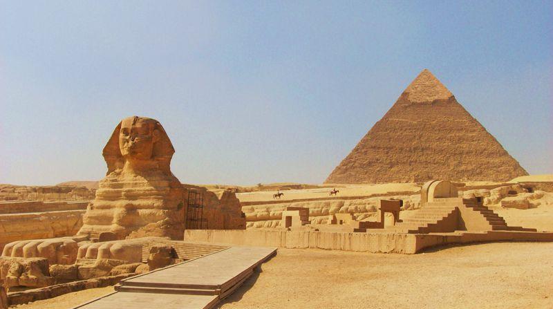 Τα μυστήρια της Αιγύπτου…