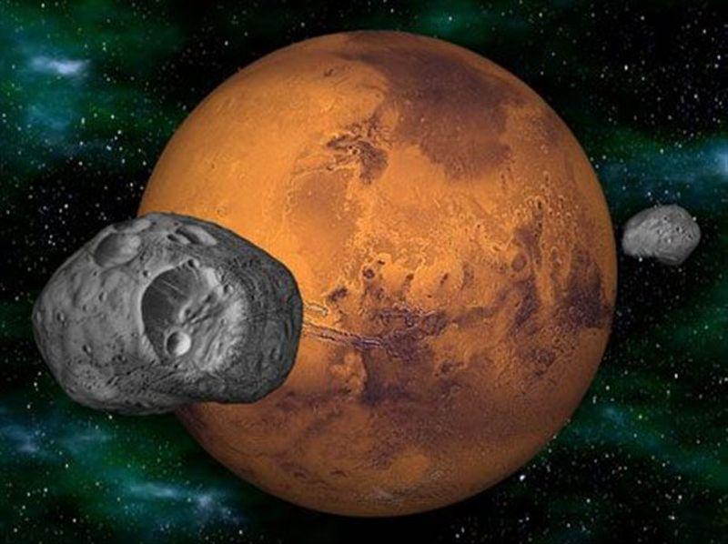 Το τεχνητό φεγγάρι του Άρη…