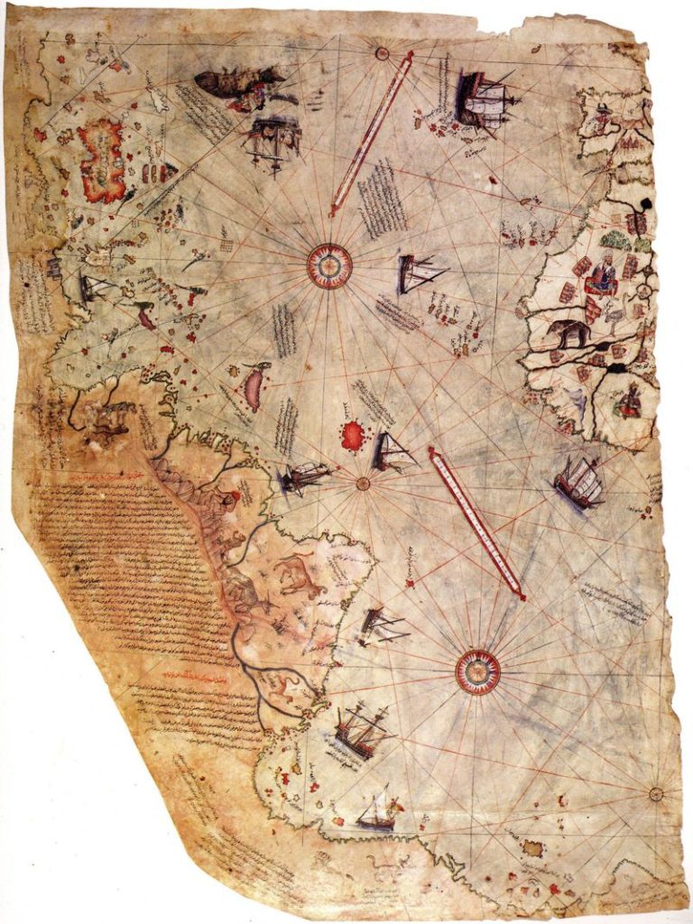 Ο αινιγματικός χάρτης του Πίρι Ρέις