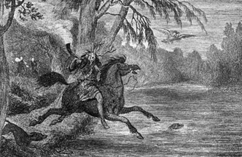 Τα πιο φημισμένα φαντάσματα της Αγγλίας - Χερν ο Κυνηγός...