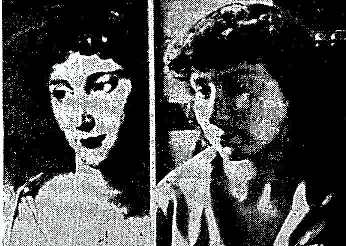 Η Παυλίνα Βοναπάρτη (αριστερά) και η Ντενίζ Κρετέι (δεξιά). Στις δύο φωτογραφίες παρατηρείται μία ομοιότητα, όπως μεταξύ ατόμων που ανήκουν στην ίδια οικογένεια.