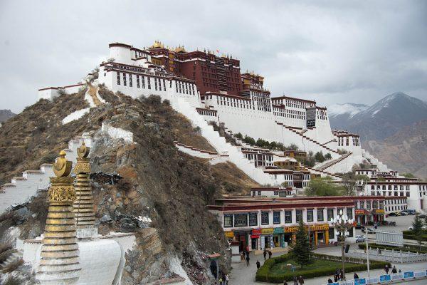 Το ανάκτορο Ποτάλα, ιστορική έδρα των Δαλάι Λάμα