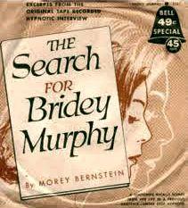 """Το βιβλίο του Morey Bernstein με τον τίτλο """"Η έρευνα για την Bridey Murphy"""""""