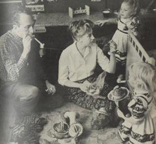 H Πατρίσια Τζούντρυ με τον σύζυγό της Τζον Στηλ