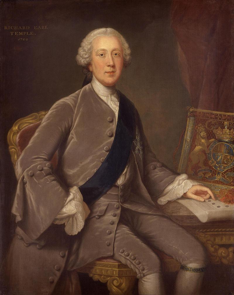 Richard Grenville-Temple, 2ος Κόμης του Τεμπλ (26/09/1711 - 12/09/1779)