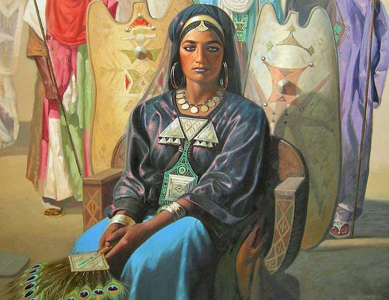 Η μυθική βασίλισσα των Τουαρέγκ, Τιν Χινάν