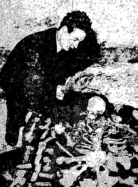 Ο Κόμης Prorok στον τάφο της Τιν Χανάν
