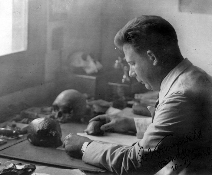 Gustav Heinrich Ralph von Koenigswald (13/11/1902 - 10/07/1982)