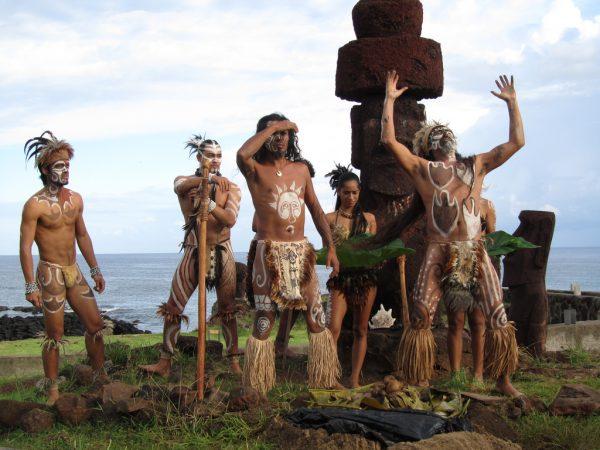Οι γηγενείς κάτοικοι της Νήσου του Πάσχα, οι Rapa Nui