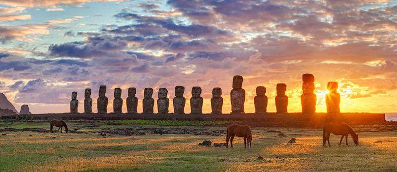 Τα αινιγματικά αγάλματα της Νήσου του Πάσχα