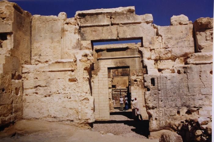 Ο Ναός του Άμμωνος Διός