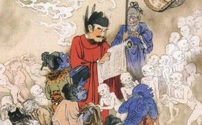 Απεικόνιση φαντασμάτων τη στιγμή της Τελικής Κρίσης, πριν περάσουν τους 6 Κύκλους της Οδύνης