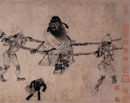 Ζονγκ-Κουί, ο θριαμβευτής επί των φαντασμάτων και των δαιμονικών όντων