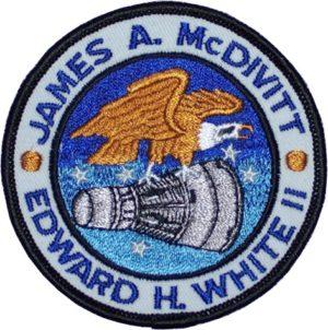 Το έμβλημα της αποστολής του Gemini IV