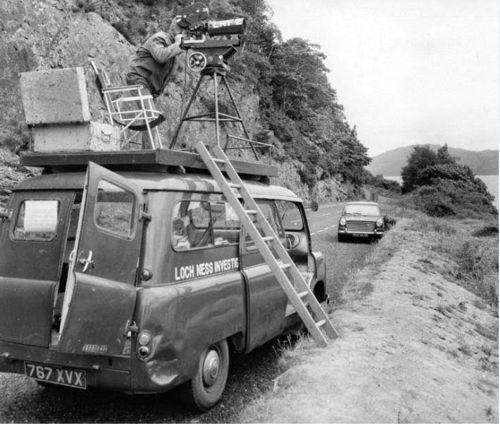 Φωτογραφία από την αποστολή στην λίμνη Λοχ Νες, το 1962