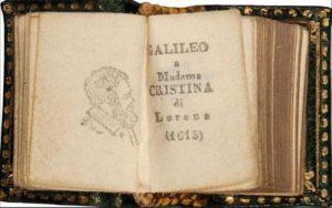 """Το βιβλίο του Γαλιλαίου, """"Letter to Madame Christina of Lorraine"""""""