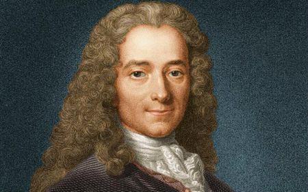 Βολταίρος (το πραγματκό του όνομα ήταν Φρανσουά Μαρί Αρουέ, 21/11/1694 - 30/05/1778)