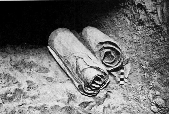 Πάπυροι, όπως βρέθηκαν αρχικά