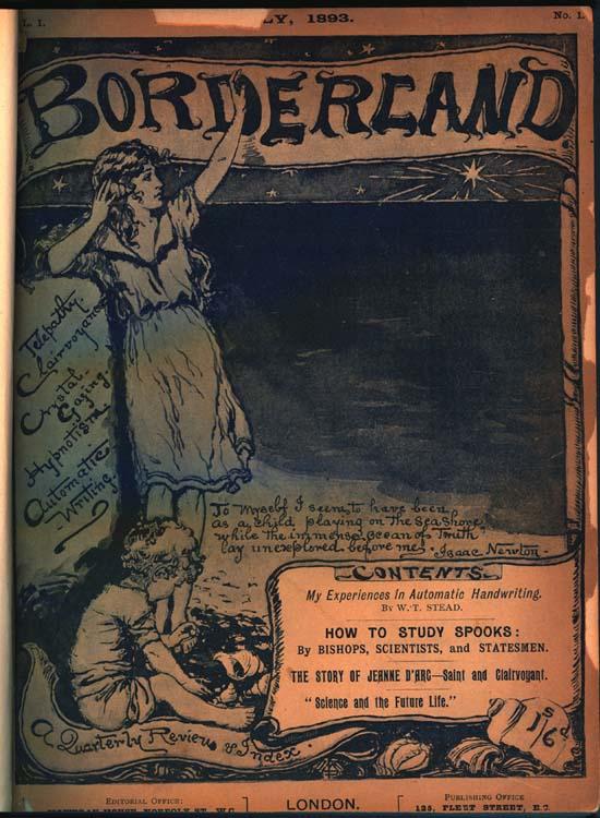 """Το πρώτο τεύχος του περιοδικού """"Bordeland"""", το 1893"""