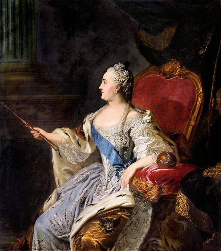 Αικατερίνη Β΄ της Ρωσίας (02/05/1729 - 17/11/1796)