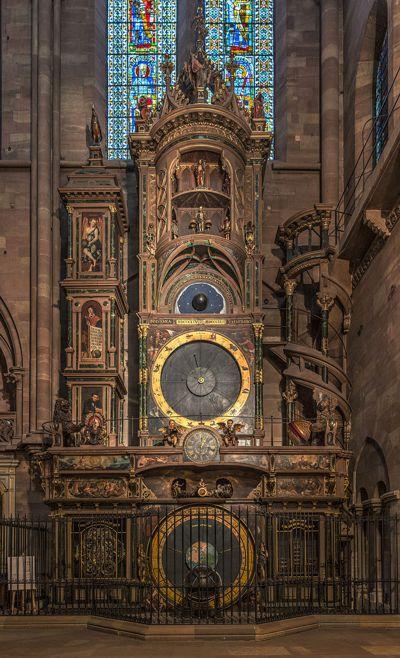 Το Αστρονομικό Ρολόι του Καθεδρικού Ναού του Στρασβούργου