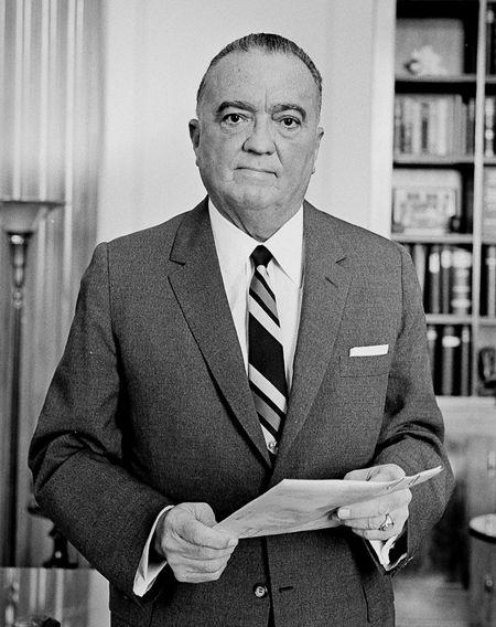 J. Edgar Hoover (01/01/1895 - 02/05/1972)