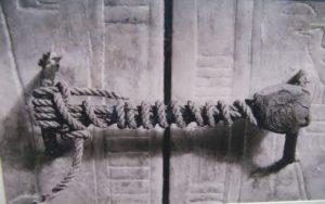 Η απαραβίαστη σφραγίδα του τάφου του Τουταγχαμών, όπως βρέθηκε το 1922