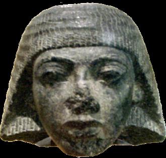 Λίθινη προτομή του Ραμσή Α', που βρίσκεται στο Μουσείο Καλών Τεχνών της Βοστόνης