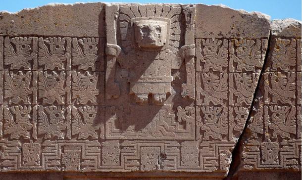 Tiwanaku - Λεπτομέρεια από την Πύλη του Ήλιου