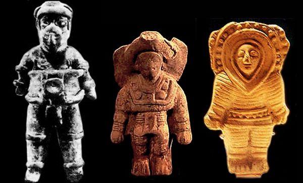 Μυστηριώδη αγαλματίδια των Αζτέκων