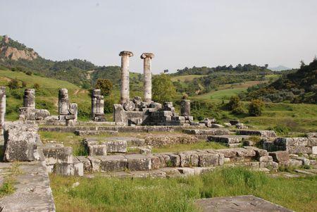 Ο Ναός της Αρτέμιδος στις Σάρδεις