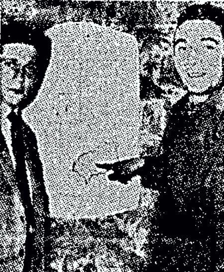 Ζαν Πορτέλ (αριστερά) και Κλοντ Σαλί (δεξιά)
