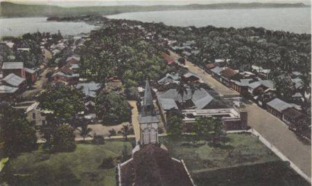 Το λιμάνι του Puntarenas της Κόστα Ρίκα, 1960