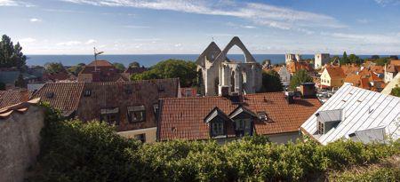Η πρωτεύουσα του νησιού, Visby