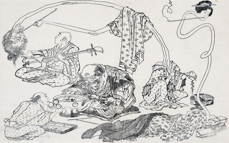 Φαντάσματα και μυστηριώδη όντα στην Ιαπωνία...