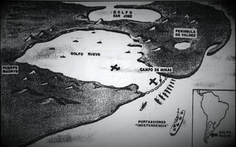 Το περιστατικό του Κόλπου Νουέβο, το 1960...