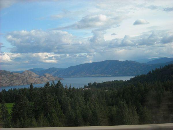 Η λίμνη Okanagan, στη Βρετανική Κολομβία του Καναδά