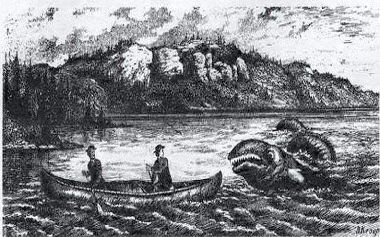 Ogopogo: Ο δαίμονας της λίμνης...