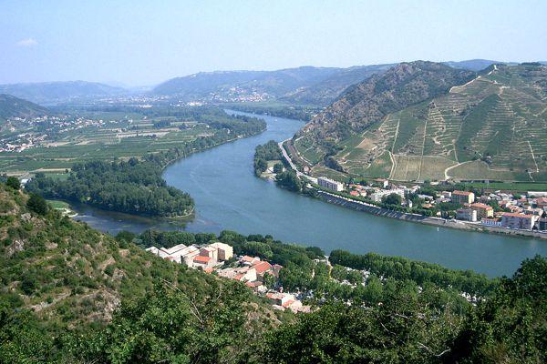 Ο ποταμός Ροδανός