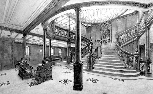 Η περίφημη Μεγάλη Σκάλα του Τιτανικού