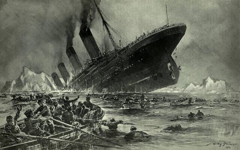 Αφηγήσεις διασωθέντων από το τραγικό ναυάγιο του Τιτανικού...