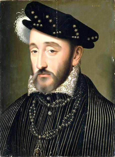 Βασιλιάς Ερρίκος ο 2ος (31/03/1519 - 10/07/1559)