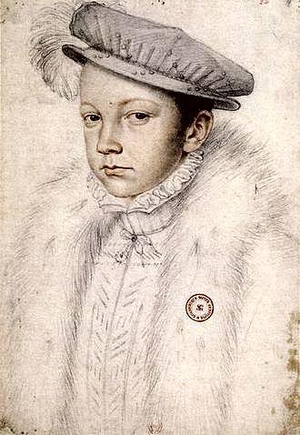 Ο πρωτότοκος γιος της Αικατερίνης των Μεδίκων, Francis II (19/01/1544 - 05/12/1560)