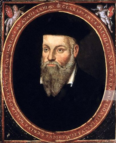 Michel de Nostredame (14 ή 21/12/1503 - 02/07/1566)