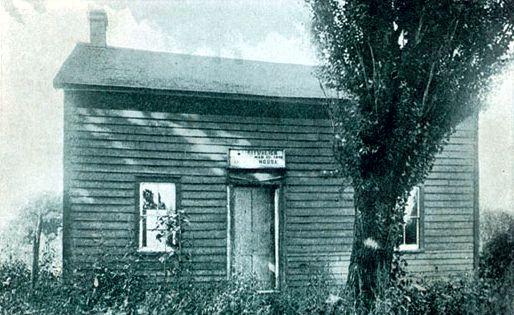Το σπίτι της οικογένειας Fox, στο Hydesville του Newark