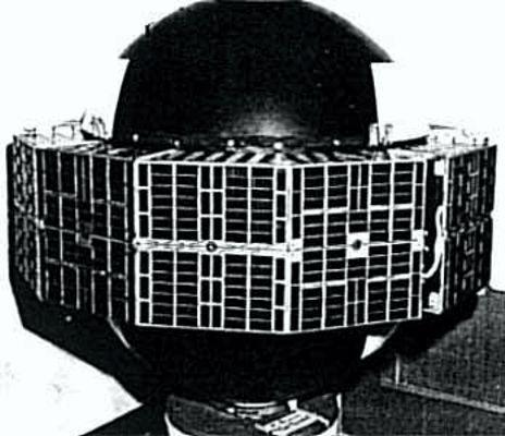 """Ο γεωδετικός δορυφόρος """"ANNA"""", που εκτοξεύτηκε στις 31/10/1962 από το Ακρωτήριο Κανάβεραλ"""