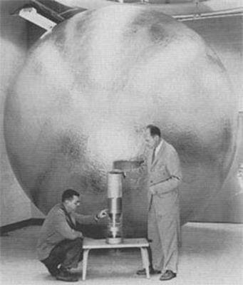 Ο δορυφόρος BEACON, που εκτοξεύτηκε στις 23/10/1958 από το Ακρωτήριο Κανάβεραλ