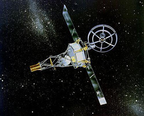 """Το διαστημόπλοιο """"Mariner"""", που εκτοξεύτηκε στις 27/08/1962 από το Ακρωτήριο Κανάβεραλ"""